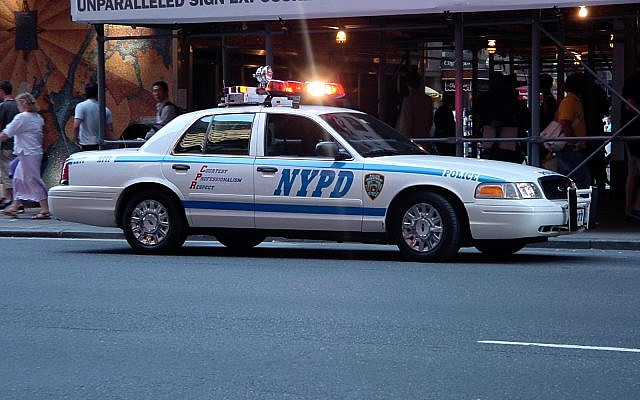 New York police car  (Wikipeda/Julius Schorzman (Quasipalm))