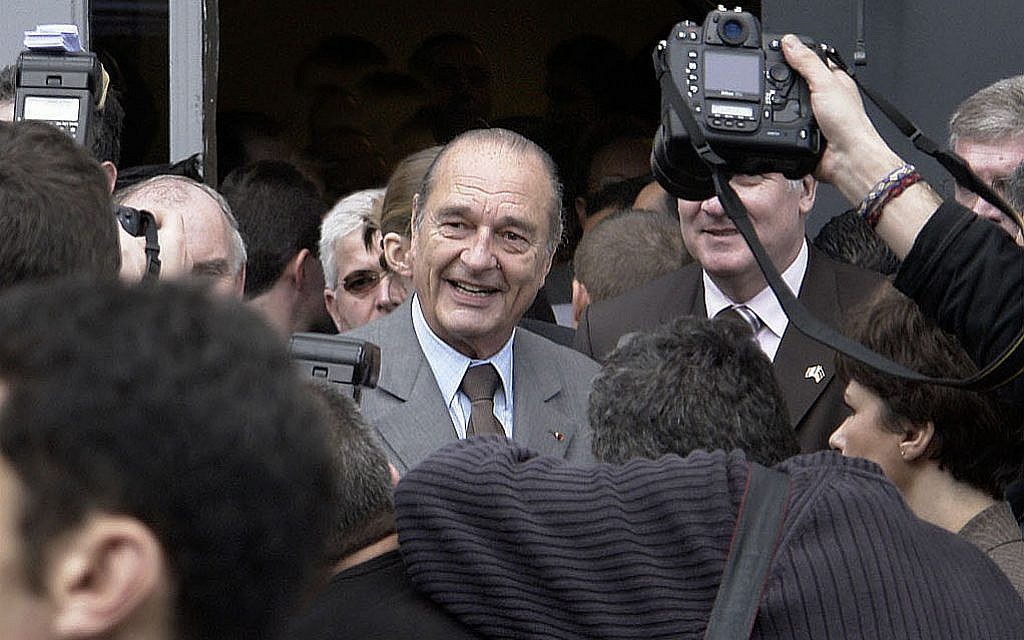 Condolences paid to Jacques Chirac, first leader to admit France's role in Shoah