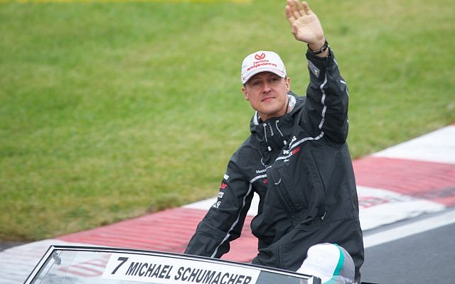 Michael Schumacher at the 2011 Canadian Grand Prix (Credit: Mark McArdle, Flickr, CC BY-SA 2.0)