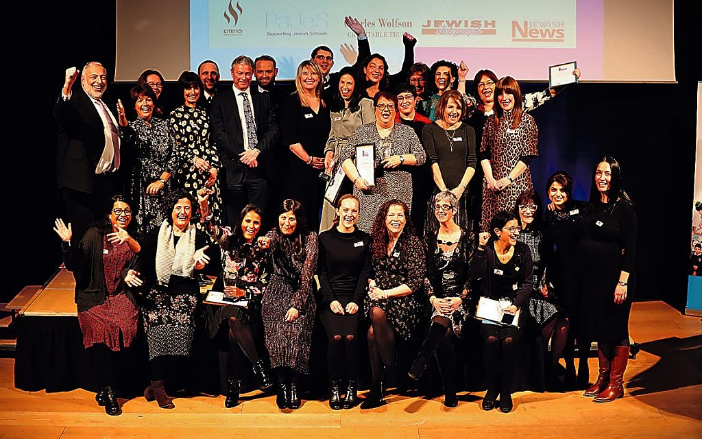 Showing their class: Winners at this year's Jewish Schools Awards, held at JW3