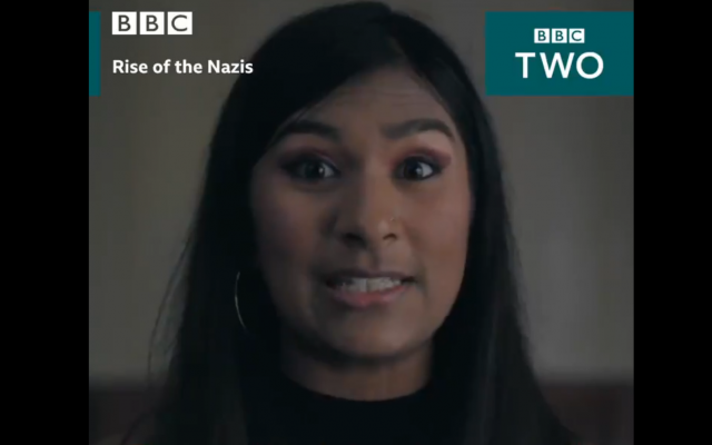Trailer for BBC Two series 'Rise of the Nazis,  (Credit: Twitter)
