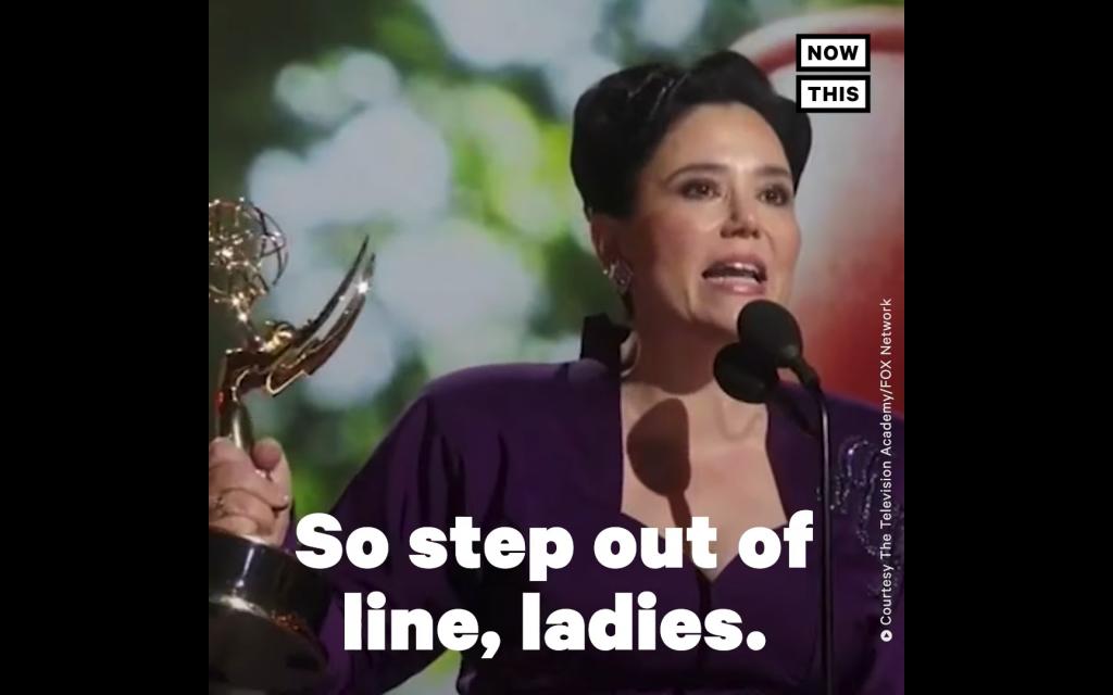 'Marvelous Mrs. Maisel' star recalls Shoah survivor grandmother in Emmys speech