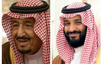 King Salman (Wikipedia/ Ron Przysucha - U.S. Department of State from United States) and Deputy Crown Prince Mohammad bin Salman Al Saud (Wikipedia/The White House from Washington, DC. Cropped by UserSikander)