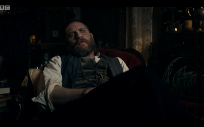 Screenshot from BBC iPlayer showing the return of Tom Hardy's character