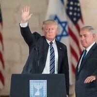 US president Donald Trump and Israeli Prime Minister Benjamin Netanyahu . Photo by: JINIPIX