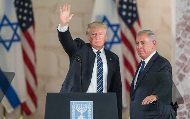 US president Donald Trump and Israeli Prime Minister Benjamin Netanyahu . Photo by: JINIPIX