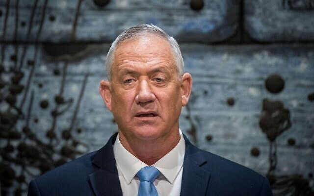 Benny Gantz.  Photo by: JINIPIX