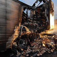 38,000 pounds of bagels burnt in truck days before Yom Kippur (Indiana State Police -  https://content.govdelivery.com/accounts/INPOLICE/bulletins/2648669)