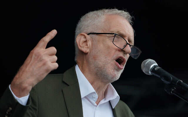 Former Labour leader Jeremy Corbyn (Photo credit: Owen Humphreys/PA Wire)