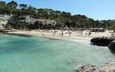 Beach in  Mallorca, Spain (Olaf Tausch/Wikipedia)
