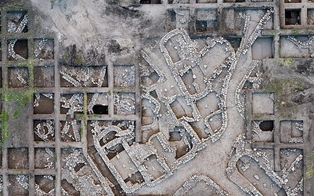 Aerial photographs of the excavation site. Photos: Assaf Peretz, Israel Antiquities Authority