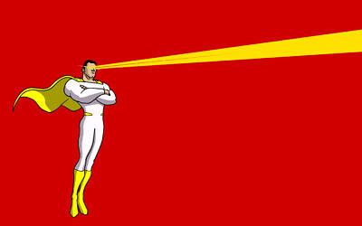 Lasik laser eye surgery transformed Richard from 'Specky, specky four eyes' into Hawkman in the blink of an eye.
