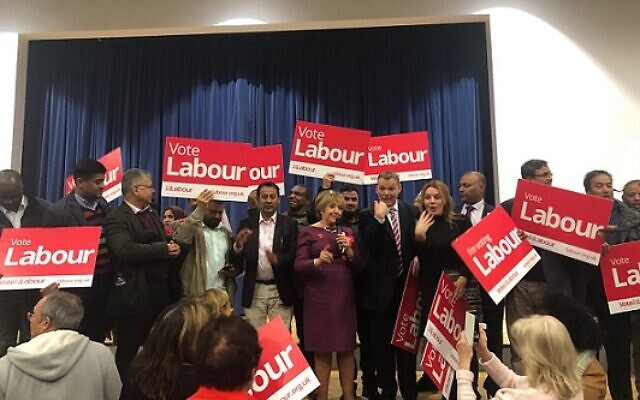 Dame Margaret Hodge speaking after her reselection is confirmed