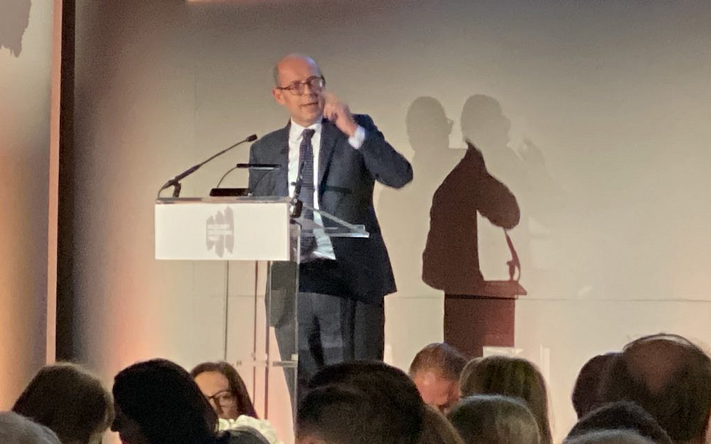 Nick Robinson tells Holocaust Educational Trust: Jewish MPs are being driven out