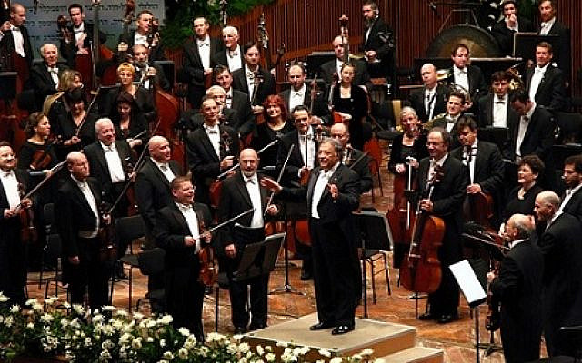 Israel Philharmonic Orchestra conducted by Zubin Mehta, 70th anniversary celebrations  (Wikipedia/Yeugene)