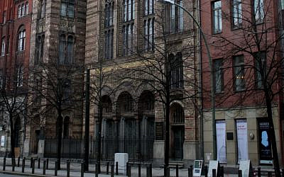 Neue Synagogue (Wikimedia Commons)