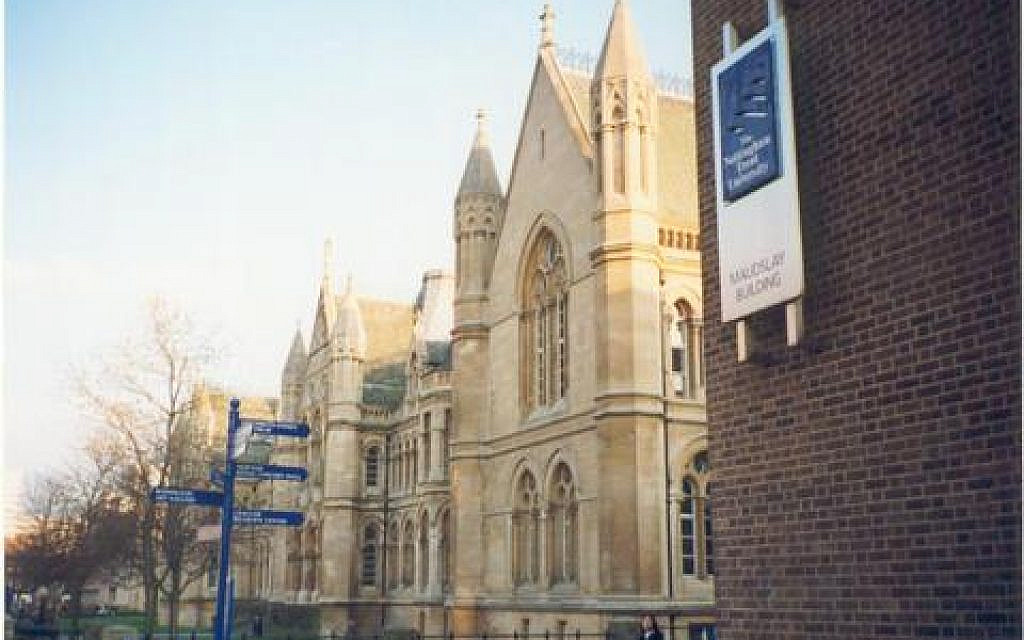 Uni suspends student over image of Charedi with Palestine sticker on mouth