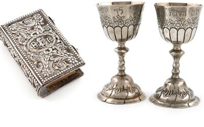 Judaica attract strong bidding at auction in Salisbury