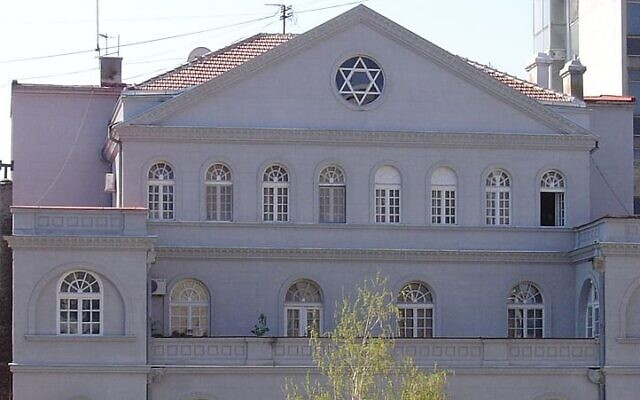 Belgrade's synagogue (Wikipedia/Matija /cc-by-sa-2.5)