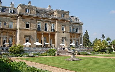 The Grade I listed building of Luton Hoo Hotel