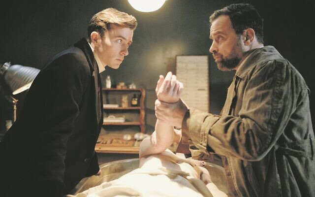 Max Liebermann (Matthew Beard) and Inspector Oskar Rheinhardt (Juergen Maurer) team up to investigate murders in Vienna Blood. Credit: Endor