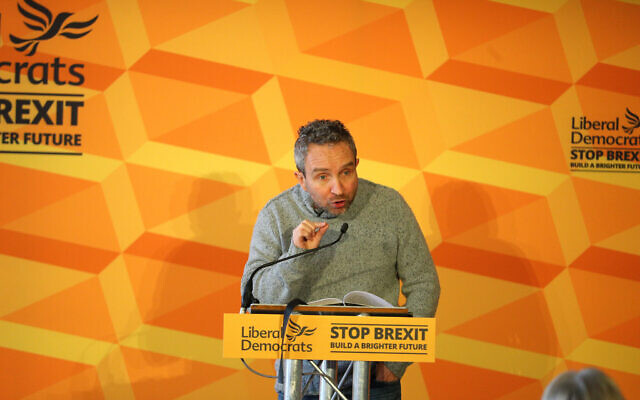 Actor Eddie Marsan, at Liberal Democrat event in London (Photo credit: Aaron Chown/PA Wire)