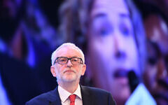Labour leader Jeremy Corbyn at the CBI conference at the InterContinental Hotel in London (Photo credit: Stefan Rousseau/PA Wire)