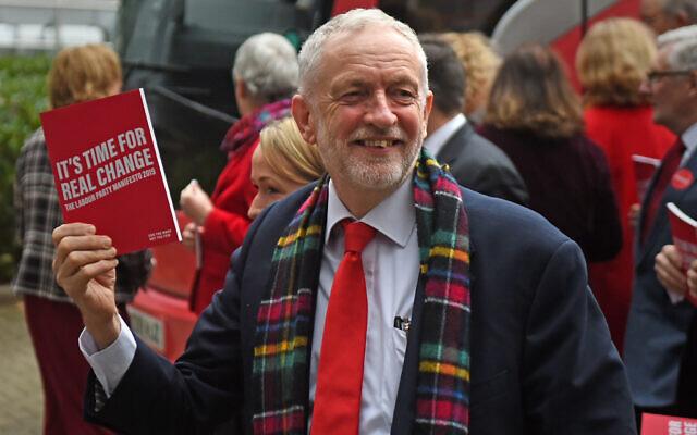 Former Labour Party leader Jeremy Corbyn.