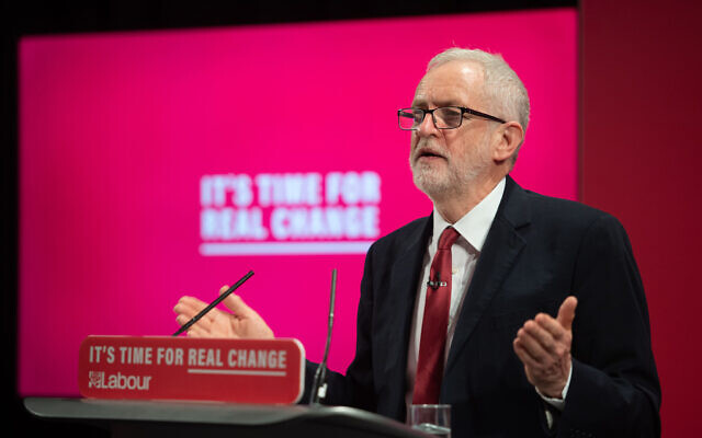 Former Labour Party leader Jeremy Corbyn last year (Photo credit: Joe Giddens/PA Wire)