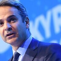 Greek leader Kyriakos Mitsotakis (Wikipedia/European People's Party)
