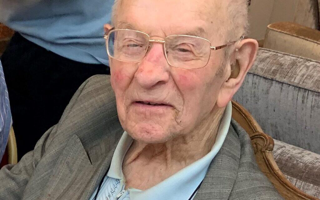 Alf Collis (Credit: Jewish Care)