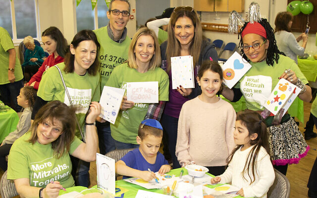 Bushey Mitzvah Day  - Card making for Save a Child's Heart