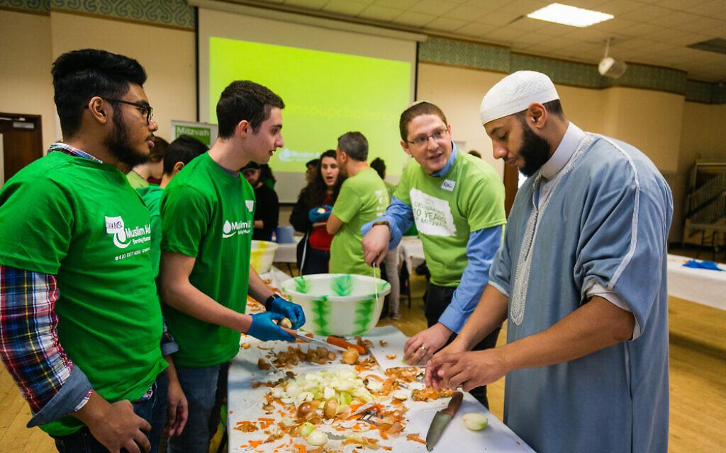 Chicken soup challenge for Mitzvah Day! (Yakir Zur)