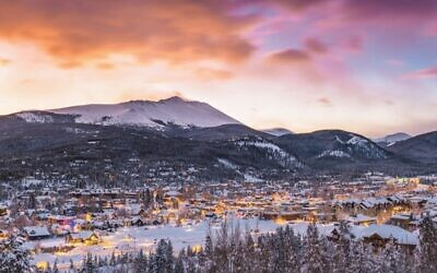 Breckenridge in Colorado offers spectacular views and powder-soft slopes – but wrap up in the icy temperatures