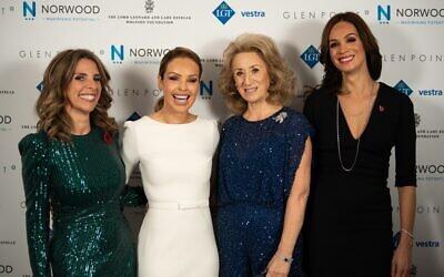From left: Lady Nicola Mendelsohn, Katie Piper, Lady Estelle Wolfson, Orly Wolfson. Credit: Blake Ezra Photography 2019