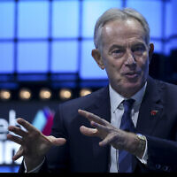 Tony Blair (Filipe Amorim / Global Images/Sipa USA)