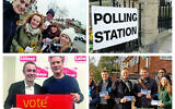 Top:  Clareine Enderby, bottom David Pinto-Duschinsky, and Matthew Offord, are all vying for the marginal remain seat of Hendon