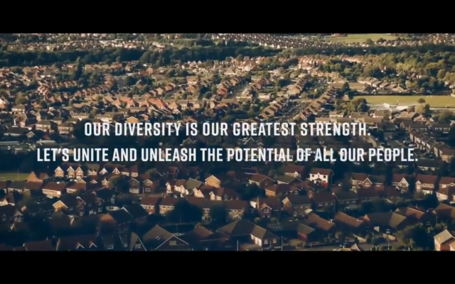Screenshot of the Labour Party's campaign video (Credit: Twitter / Jeremy Corbyn)