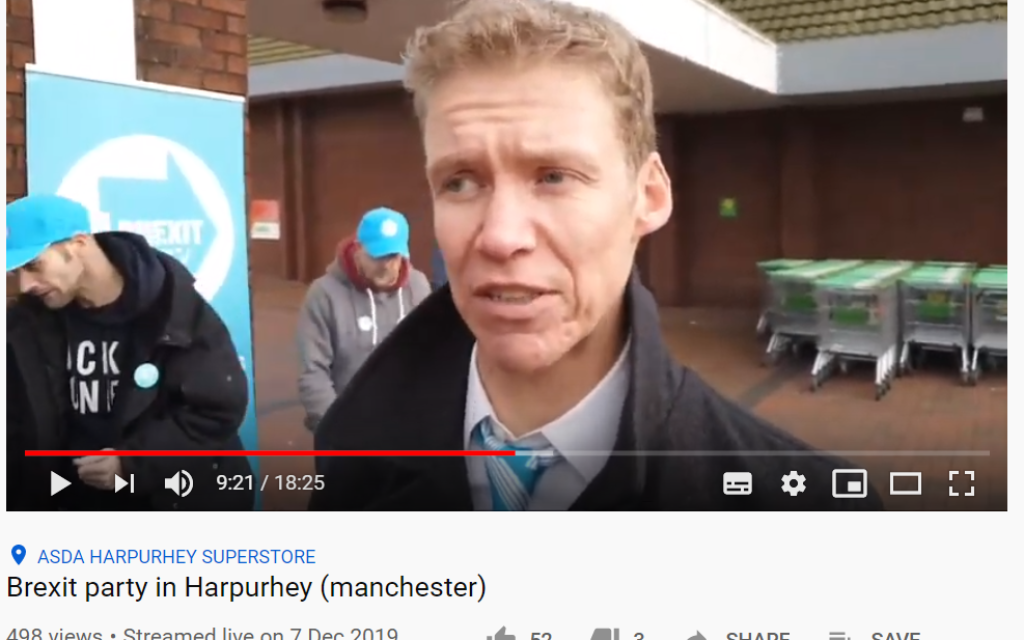 Brexit Party drops candidate who said 'not enough evidence Jews were gassed'