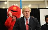 Prime Minister Boris Johnson giving his victory speech (Photo credit: Stefan Rousseau/PA Wire)