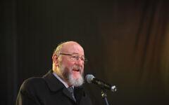 Chief Rabbi Ephraim Mirvis (Photo credit: Dominic Lipinski/PA Wire)
