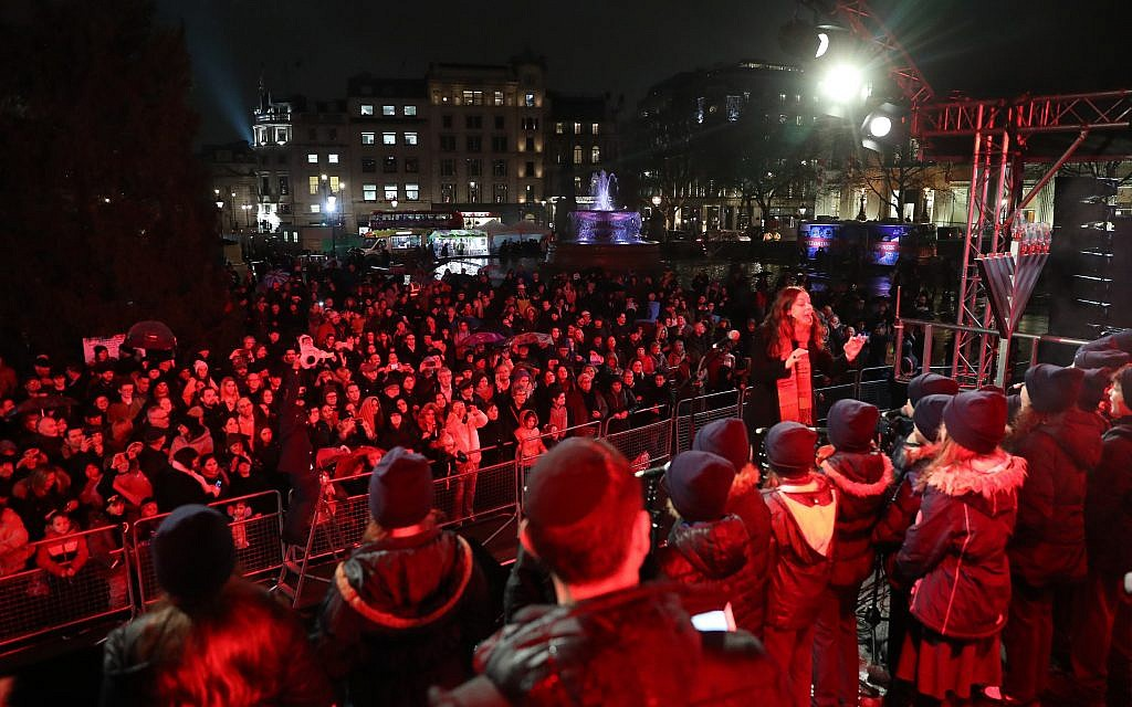 Chanukah in the Square 2018 (Marc Morris)