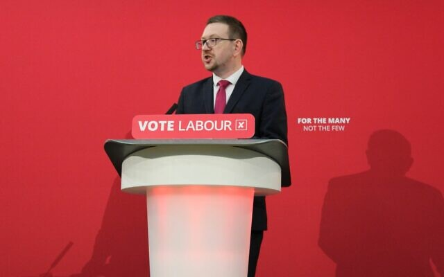 Andrew Gwynne (Labour Party via Jewish News)