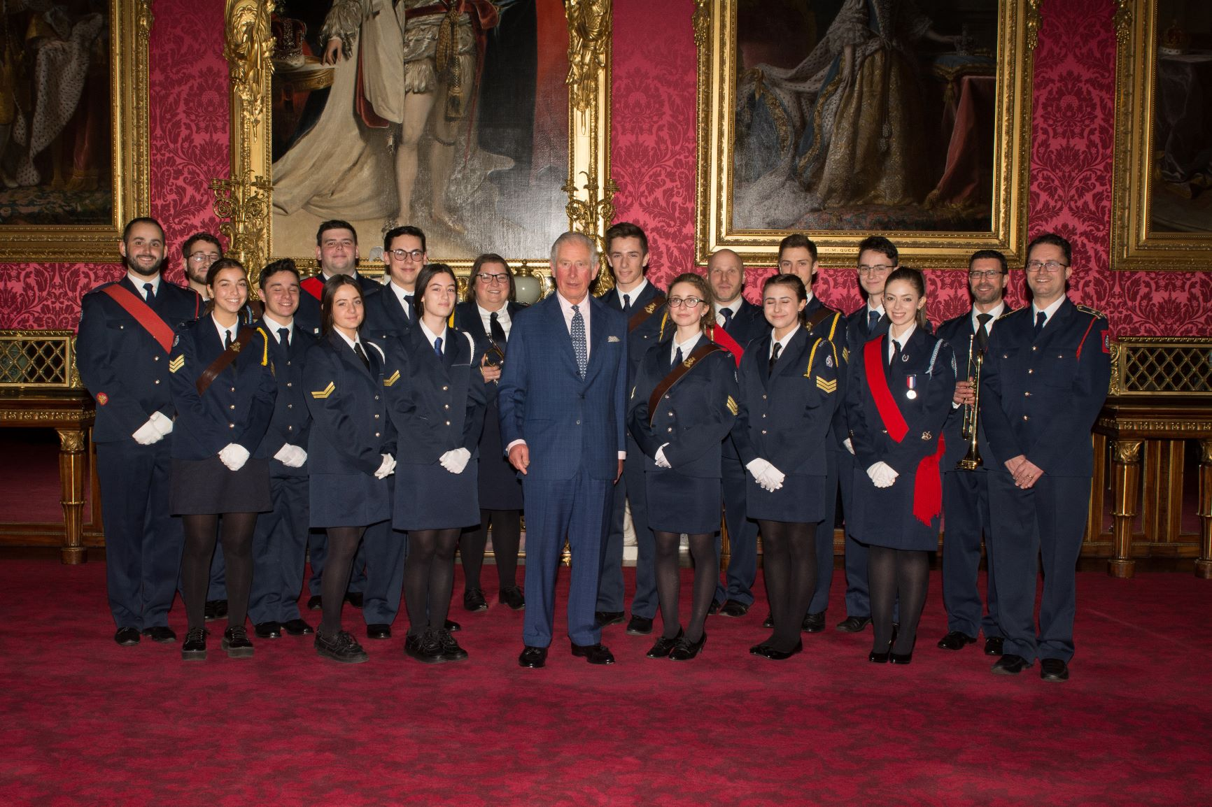 The Prince of Wales with JLGB members (Credit: Board of Deputies of British Jews)