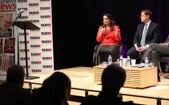 Naz Shah, at Jewish News' hustings last year