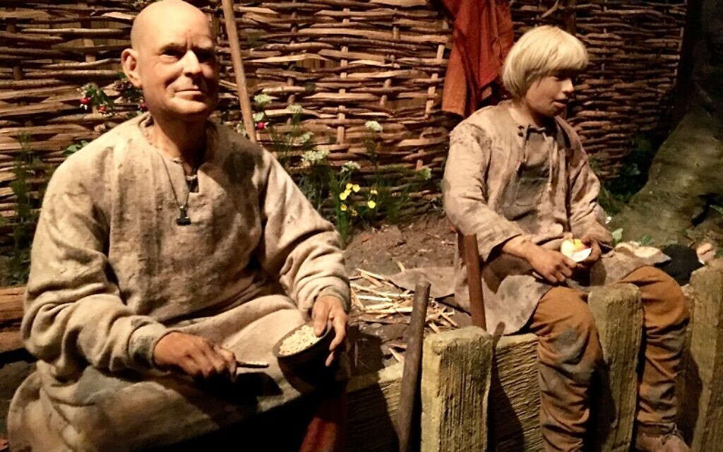 The sights and sounds of Viking times are brought to life at the Jorvik Viking Centre