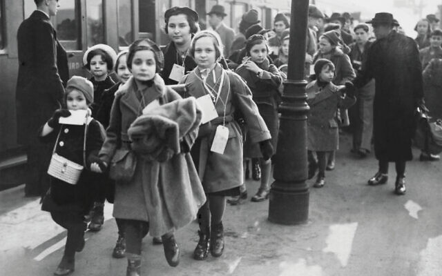 Jewish Children Refugees Arriving From Germany In London On February 1939