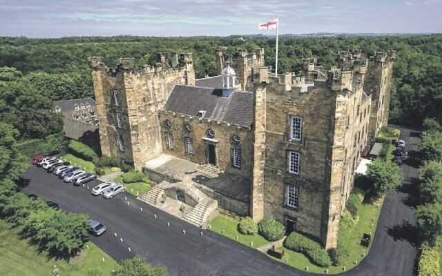 Lumley Castle in County Durham