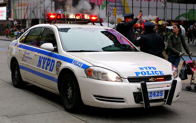 New York Police Department car (Wikimedia/ Mic from Reading - Berkshire, United Kingdom/ Creative Commons Attribution 2.0 Generic license.)