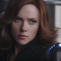 Scarlett Johansson as the Black Widow superhero (credit: YouTube)
